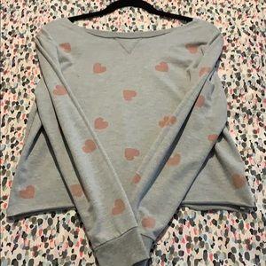 H&M Long-Sleeve Crop Top